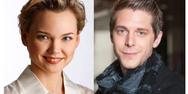 Die ENGELmagazin Autoren Jana Haas und Pascal Voggenhuber